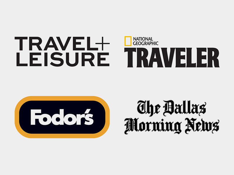 Travel + Leisure | Nat Geo Traveler | Fodor's | The Dallas Morning News