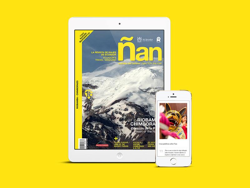 Ñan Magazine - Subscribe
