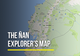 Ñan Explorer's Map