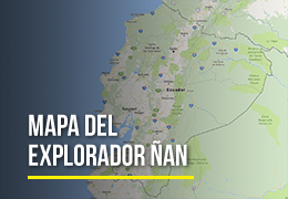 Mapa del Explorador Ñan